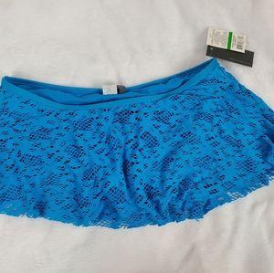 Kenneth Cole Reaction sixe Large bikini skirt